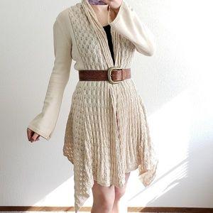 Boho crochet cardigan
